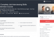 The Complete Job Interviewing Skills Masterclass Course