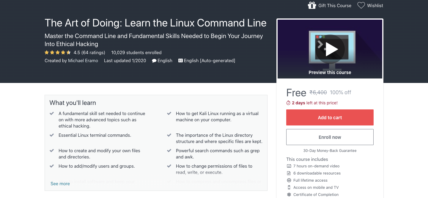 The Art of Doing: Learn the Linux Command Line