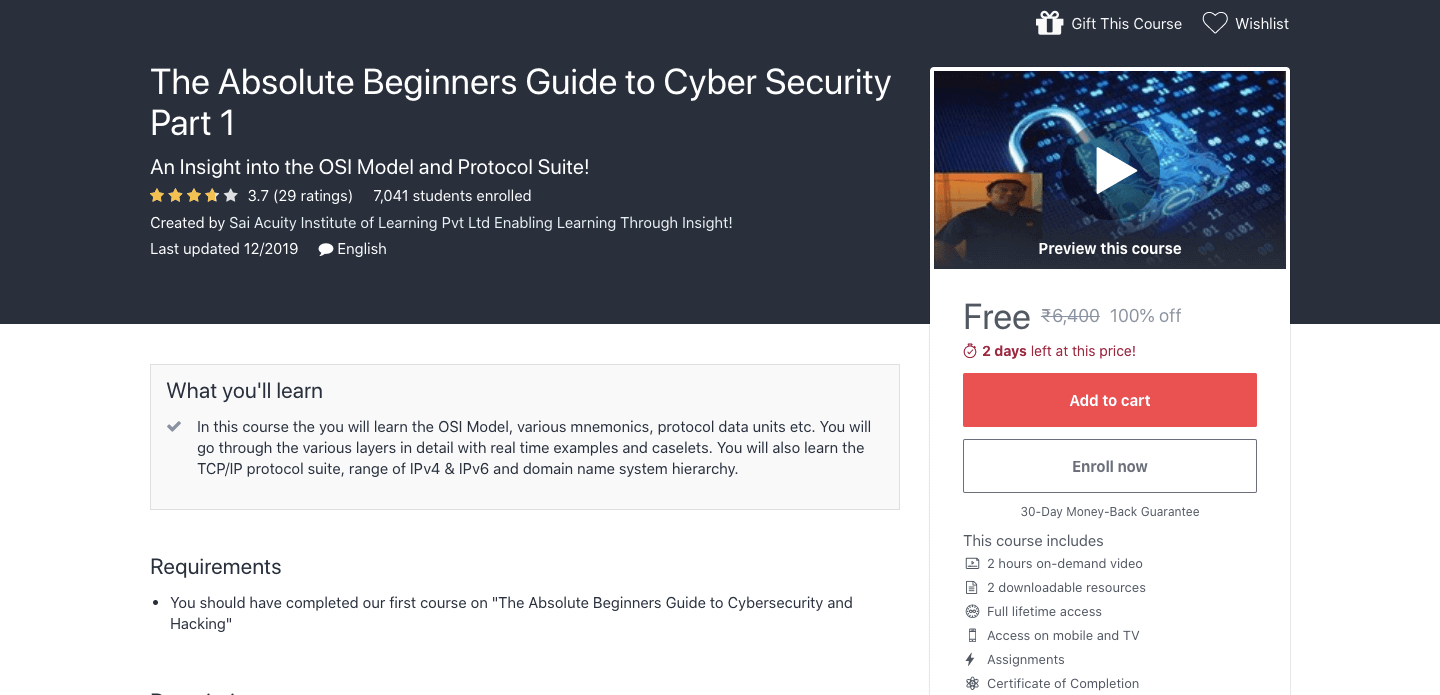 The Absolute Beginners Guide To Cyber Security Part 1