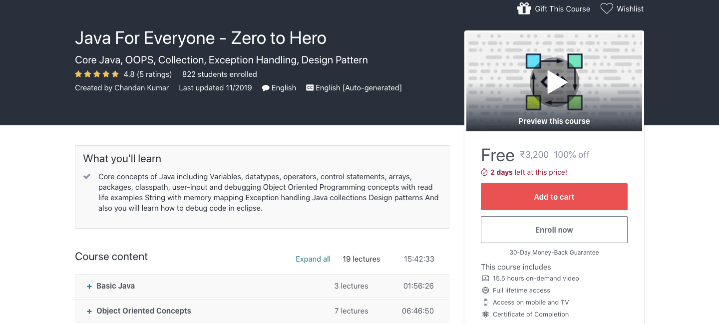 Java For Everyone - Zero to Hero