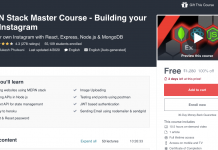 MERN Stack Master Course - Building your own Instagram