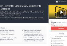 Microsoft Power BI: Latest 2020 Beginner to Expert Modules