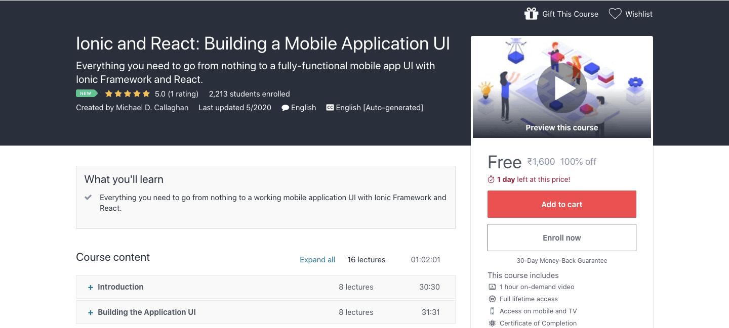 Ionic and React: Building a Mobile Application UI