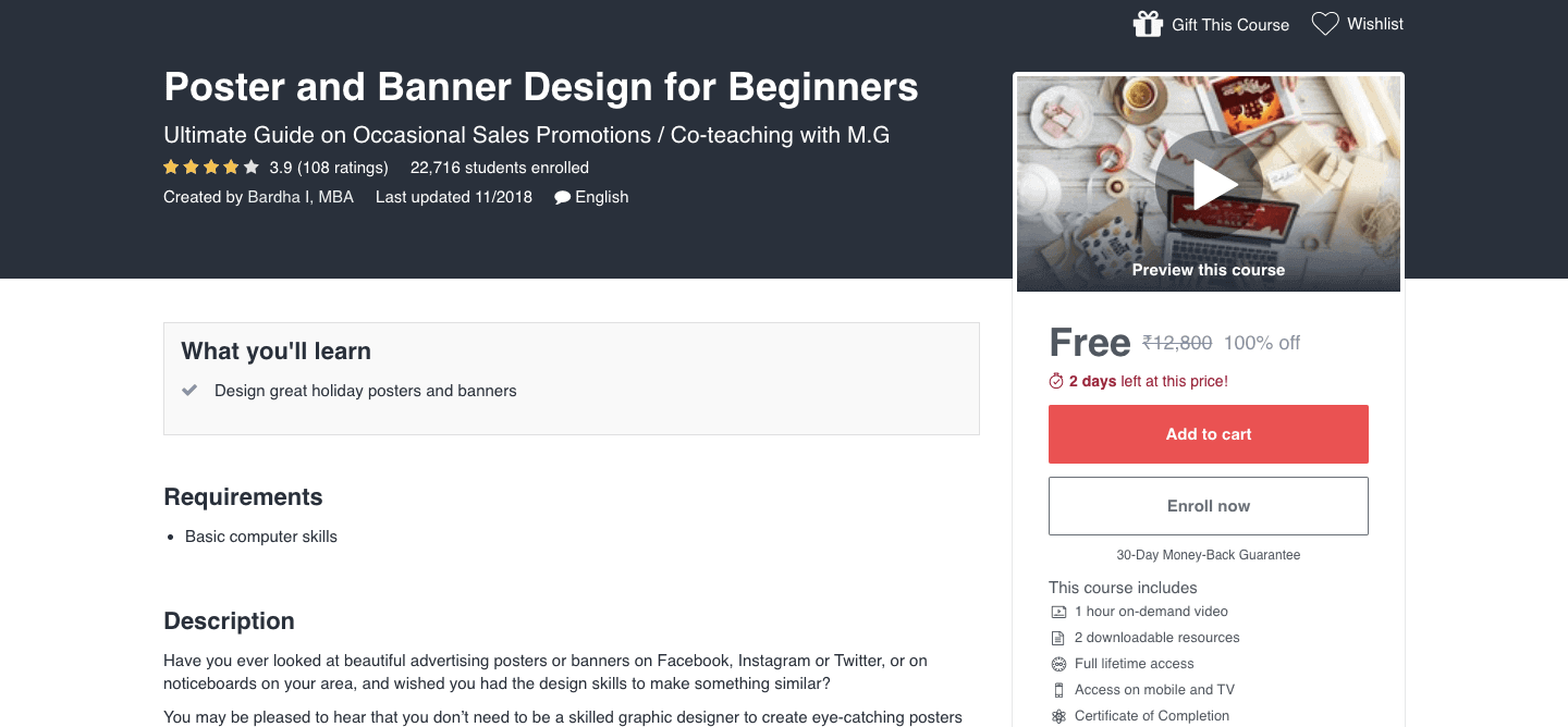 Poster and Banner Design for Beginners