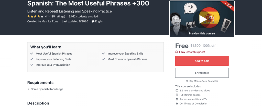 Spanish: The Most Useful Phrases +300