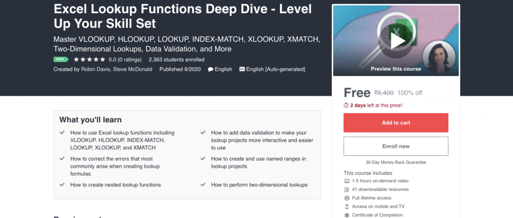 Excel Lookup Functions Deep Dive - Level Up Your Skill Set