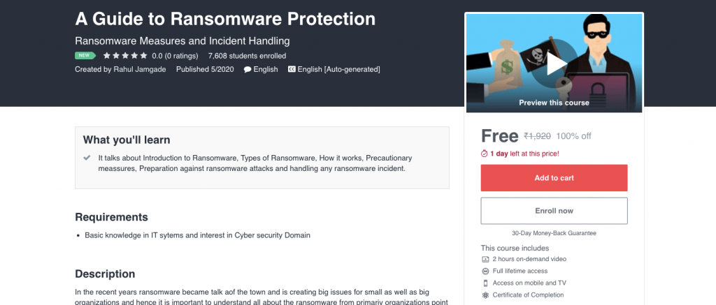 A Guide to Ransomware Protection