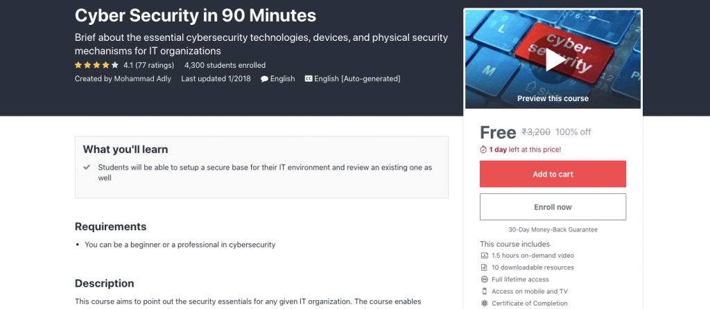 Cyber Security in 90 Minutes