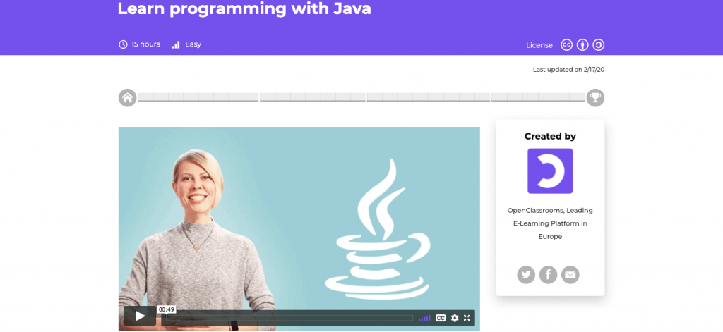 Learn programming with Java