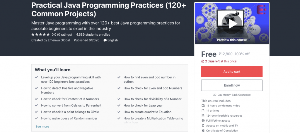 Practical Java Programming Practices (120+ Common Projects)