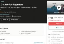 Docker Course for Beginners