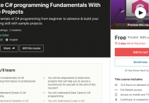 Complete C# programming Fundamentals With Example Projects