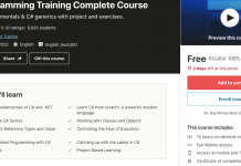 C# Programming Training Complete Course