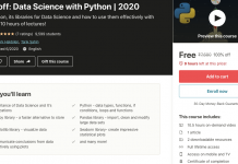 Take-off: Data Science with Python | 2020