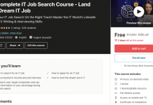 The Complete IT Job Search Course - Land Your Dream IT Job
