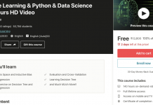 Machine Learning & Python & Data Science -140 Hours HD Video