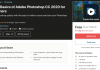 Learn Basics of Adobe Photoshop CC 2020 for Beginners