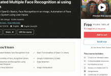 Automated Multiple Face Recognition ai using Python