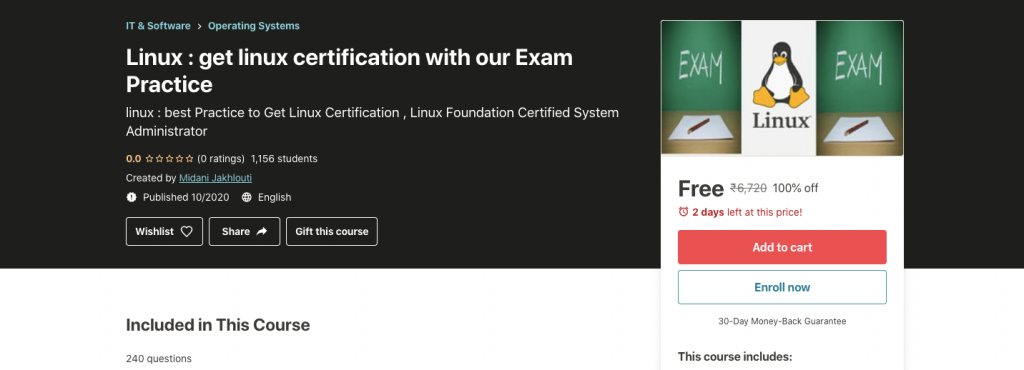 Linux : get linux certification with our Exam Practice
